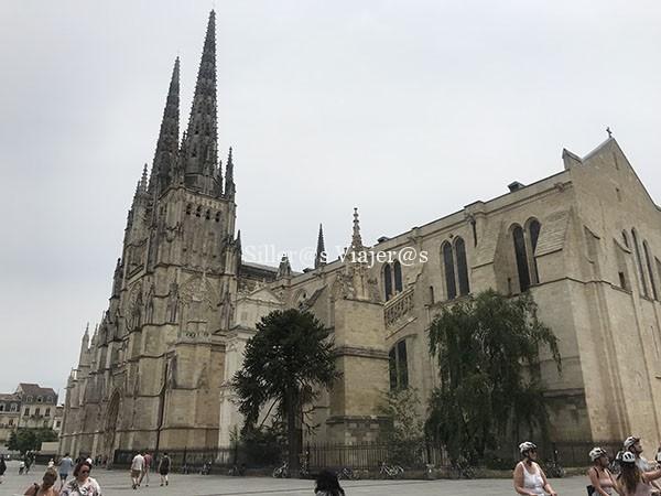 Exterior Catedral de Burdeos