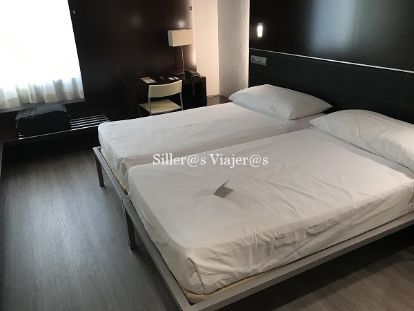 Una de las habitaciones adaptadas del Hotel Ceuta Puerta de África