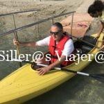Zona de embarque al kayak