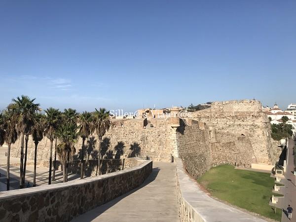 Panorámica de las murallas reales
