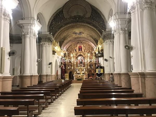 Interior de la Iglesia Nuestra Señora de África