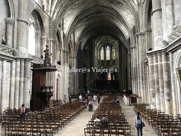 Interior Catedral de Burdeos