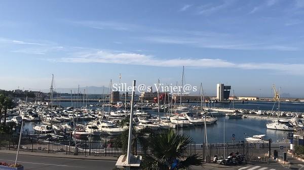 Panorámica del Puerto de Ceuta