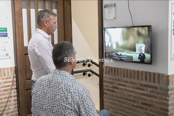 Video explicativo del calado, con subtítulos e intérprete de lengua de signos