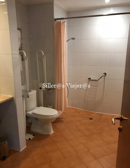 WC adaptado habitación