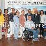 Día de la inauguración Villa Lucía con los 5 sentidos