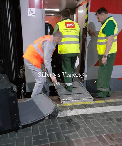 Vagón accesible para PMR