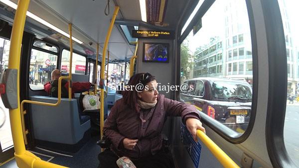 Bus urbano, plaza reservada a PMR
