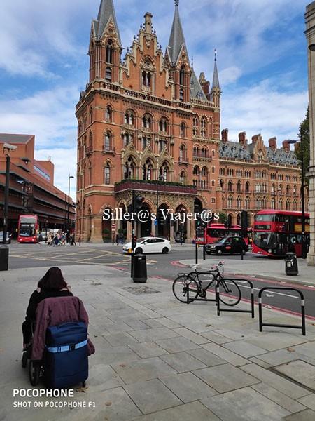 De camino a Estación St. Pancras