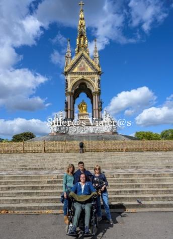 Albert Memorial en Kensington Gardens