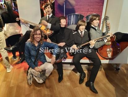 """Museo de cera """"Madame Tussauds"""" . Figuras del grupo The Beatles"""