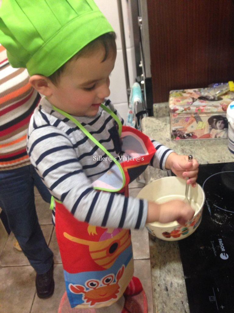 Cocinando con mi hijo