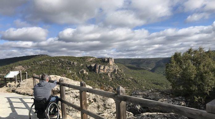 Mirador de Zaorejas en silla de ruedas