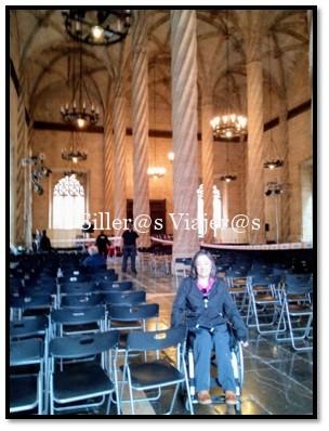 Interior de la Catedral de Valencia