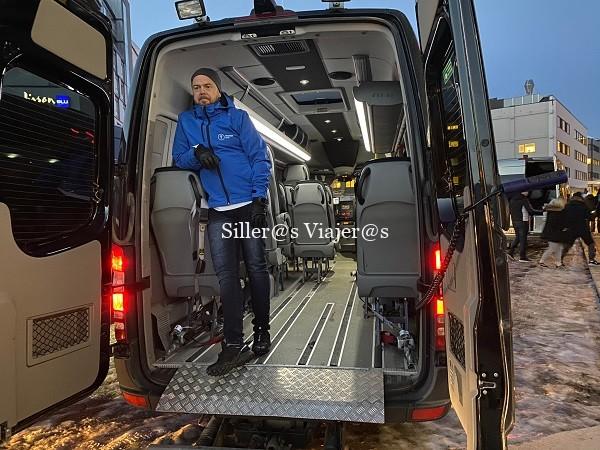 Transporte adaptado en Tromso