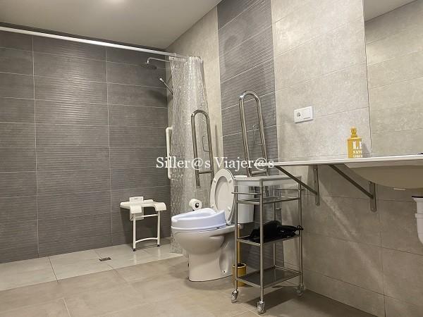 Baño accesible en apartamento Sonido