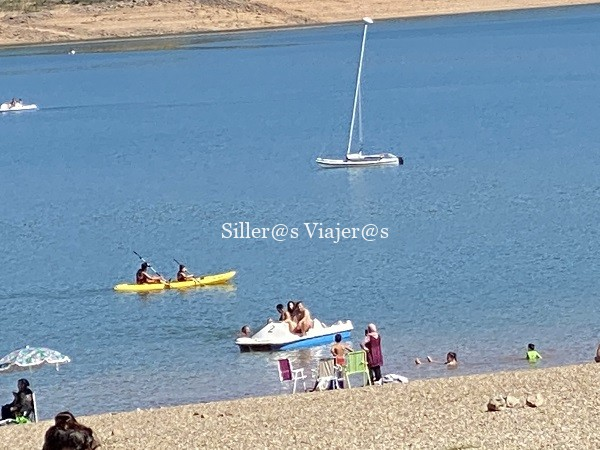 Piraguas, barcas de pedales y mucho más en el Rasillo