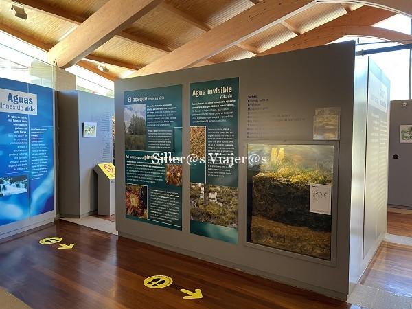 Interior del Centro de Visitantes de Sierra Cebollera