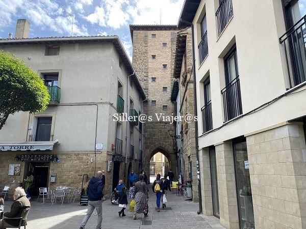 Acceso a la plaza Carlos III a través de la atalaya