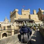 Palacio Real parte superior con silla de ruedas