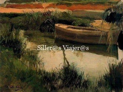 Barca en la Albufera, pintado por J.Sorolla,1895 © Republica.com 2011