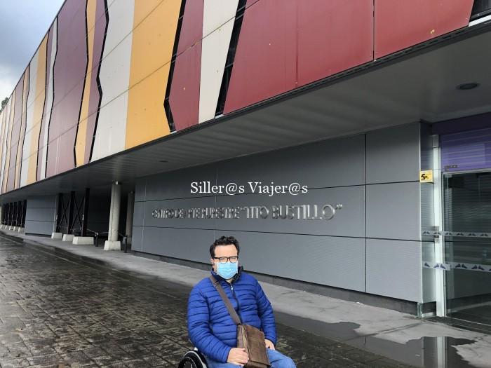 Entrada al Centro de Interpretación de Tito Bustillo