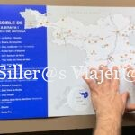 Mapa accesible en relieve y Braille
