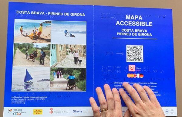 Mapa accesible de Costa Brava Pirineus