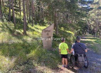 Sendero del Camero Riojano en silla de ruedas
