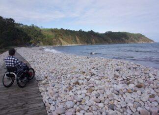 Zona Oeste de Asturias con silla de ruedas