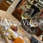 Tabla de queso y vino