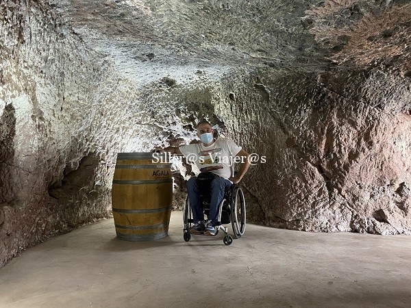 Cueva en Bodegas Bentayga