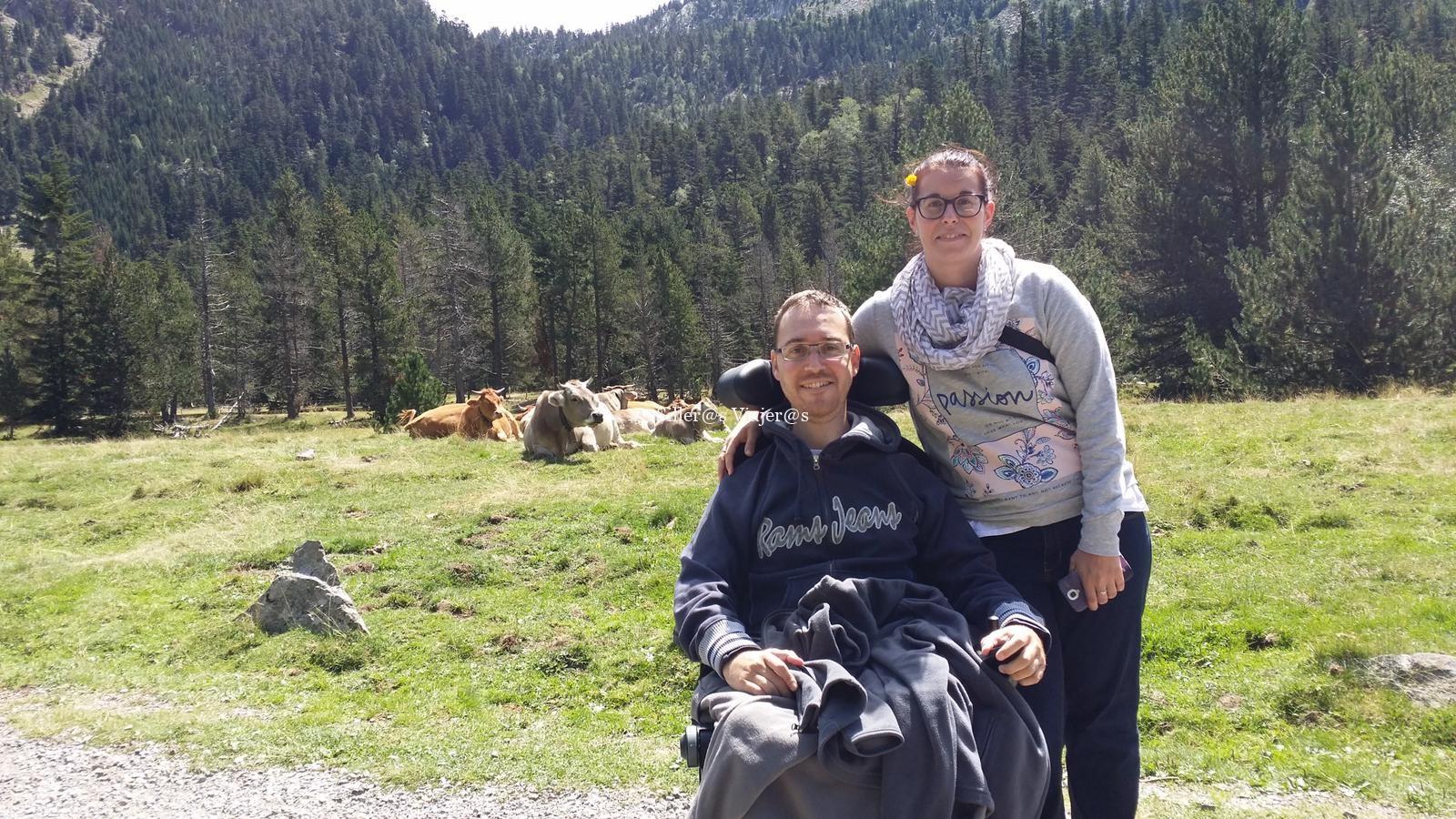 Parque Nacional de Aigüestortes con silla de ruedas