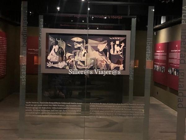 Sala dedicada al Guernica de Picasso