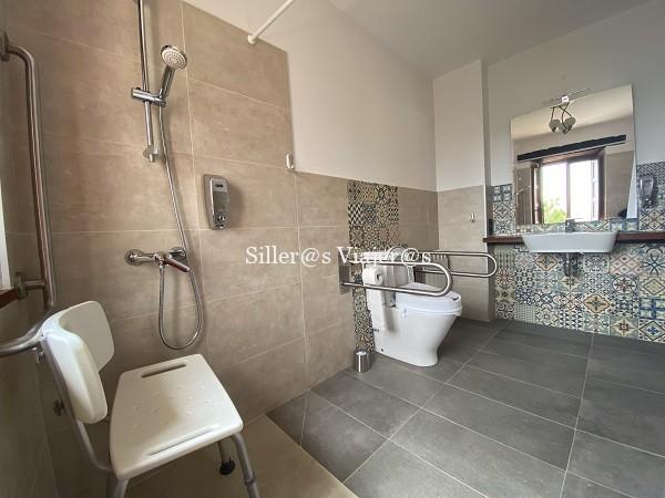 Baño accesible en apartamento